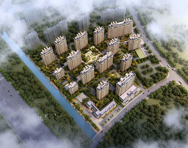 中国铁建原香颂鸟瞰图