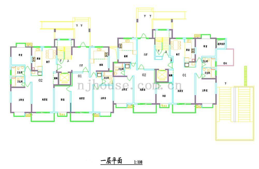 南京天祥家园户型图
