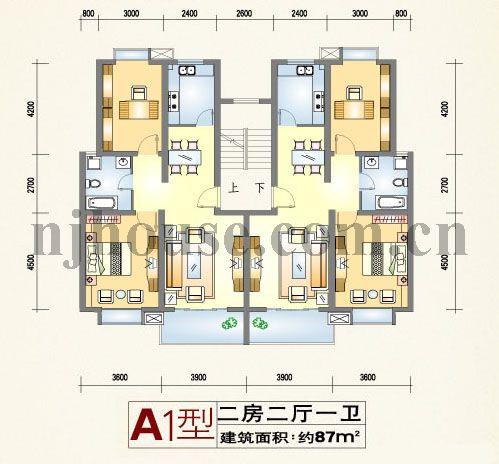 130平方米房子的设计图